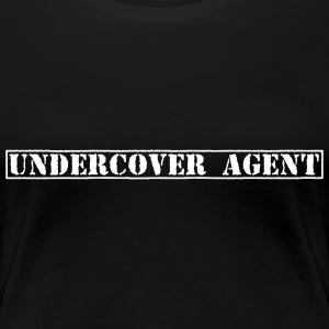 Undercover Agent / Undercover efterforskere / poli T-shirts - Dame premium T-shirt