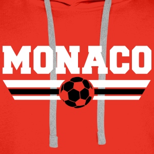 Monaco Football Club Sweat-shirts - Sweat-shirt à capuche Premium pour hommes