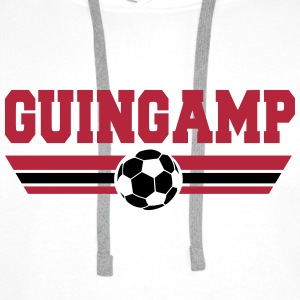 Guingamp Football Club Sweat-shirts - Sweat-shirt à capuche Premium pour hommes