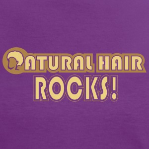 Natural Hair Rocks T-Shirts - Women's Ringer T-Shirt