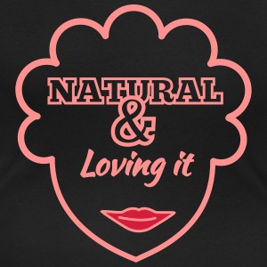 Natural & Loving It T-Shirts - Women's Scoop Neck T-Shirt