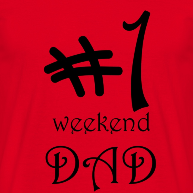 nr 1 weekend dad - Vaderdag