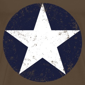 us air force star vintage T-shirts - Herre premium T-shirt