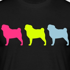 3 dogs T-shirts - Herre-T-shirt