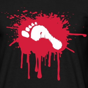 Bloody Foot T-Shirts - Men's T-Shirt