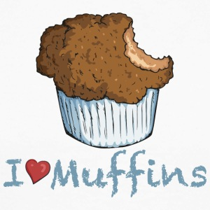 I love Muffins Tee shirts manches longues - T-shirt baseball manches longues Homme