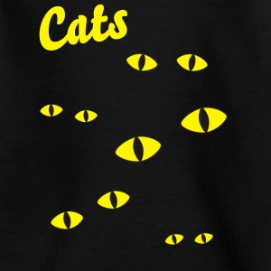 cats eyes Shirts - Kids' T-Shirt