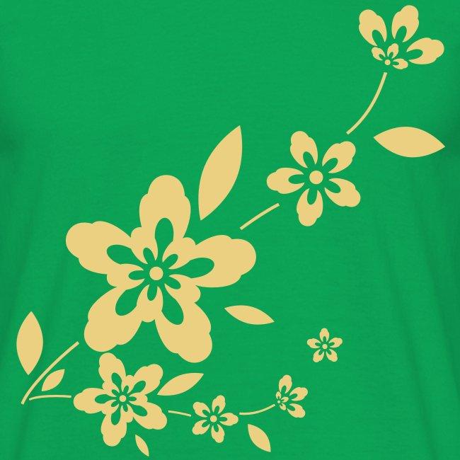 Flowery Tee