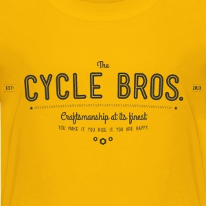 The cycle brothers, bros, bike brother Shirts - Kids' Premium T-Shirt