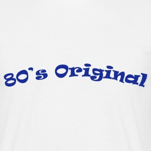 White 80s_original Men's Tees - Men's T-Shirt