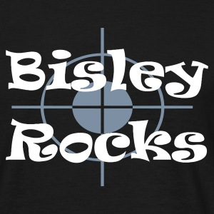 Black Bisley Rocks Men's Tees - Men's T-Shirt