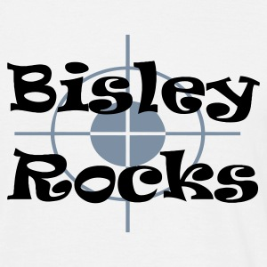 White Bisley Rocks Men's Tees - Men's T-Shirt