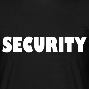 Black Security Men's Tees - Men's T-Shirt