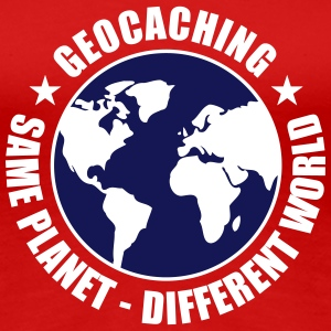 Geocaching T-Shirts - Frauen Premium T-Shirt