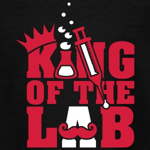 king of the lab (d, 2c) T-Shirts - Teenager T-Shirt