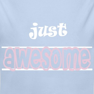 Just awesome Hoodies - Longlseeve Baby Bodysuit