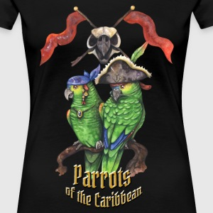 Parrots of the Caribbean T-Shirts - Frauen Premium T-Shirt