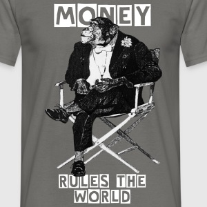 Money makes the world go round! - Maglietta da uomo