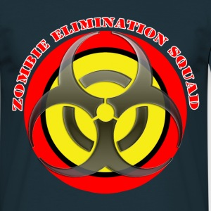 zombie elimination squad T-Shirts - Men's T-Shirt