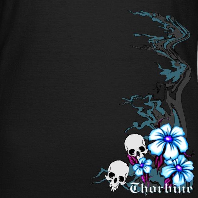 """Frauen T-Shirt klassisch """"Skulls"""""""