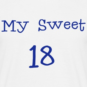 My Sweet 18/18 Fødselsdag / Party 1c T-shirts - Herre-T-shirt
