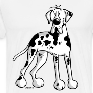 Dogue allemand -  Grand Danois - Great Dane -Chien Tee shirts - T-shirt Premium Homme