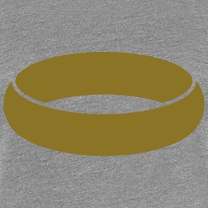 Ring Design T-shirts - Premium-T-shirt dam