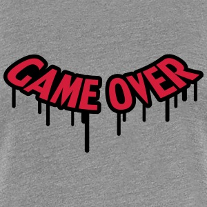 Game Over Graffiti T-skjorter - Premium T-skjorte for kvinner