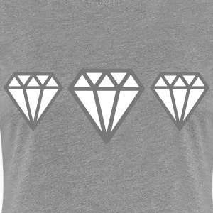 Diamonds T-Shirts - Frauen Premium T-Shirt