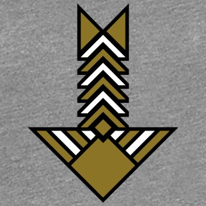 Arrow T-shirts - Dame premium T-shirt