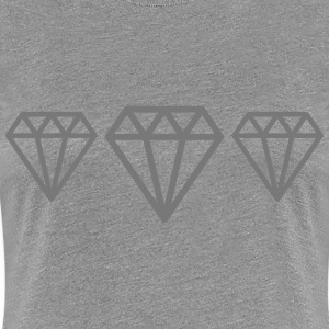 Diamonds T-Shirts - Women's Premium T-Shirt