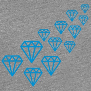 Diamond Design T-shirts - Premium-T-shirt dam