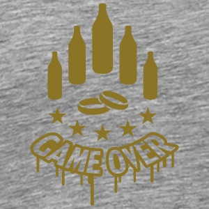 Game Over T-shirts - Herre premium T-shirt