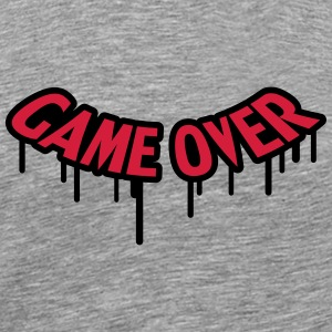 Game Over Graffiti T-shirts - Herre premium T-shirt
