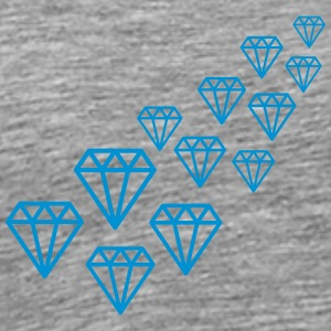 Diamond Design T-shirts - Herre premium T-shirt