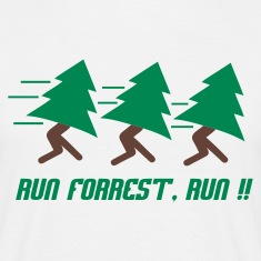 Wit Run Forrest, Run T-shirts