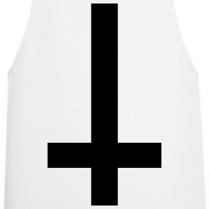 Cross Antichrist reversed 1c  Aprons - Cooking Apron