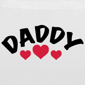 Dad / Daddy / Papa / Herz / i love my dad 2c Bags & backpacks - Tote Bag