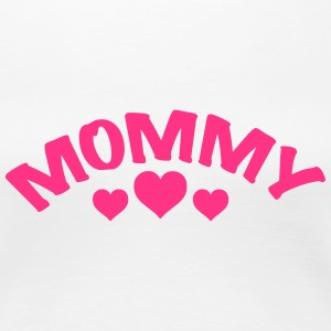 Mom / Mommy / Mama / Herz / i love my mom 1c T-Shirts - Women's Premium T-Shirt
