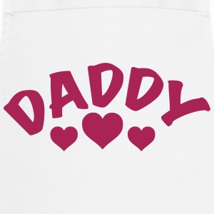 Dad / Daddy / Papa / Herz / i love my dad 1c  Aprons - Cooking Apron