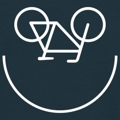 Bike Smiley T-Shirts