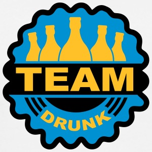 Team Drunk Stamp T-Shirts - Men's Premium T-Shirt