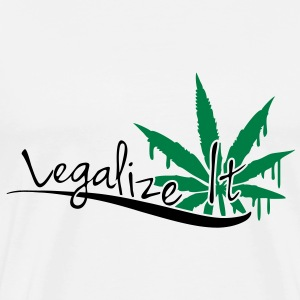 Legalize It Weed T-shirts - Premium-T-shirt herr