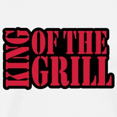 King Of The Grill Design T-Shirts