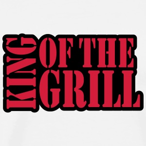 King Of The Grill Design Magliette - Maglietta Premium da uomo
