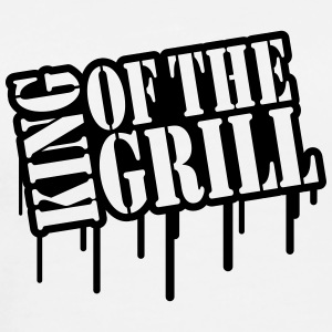 King Of The Grill Graffiti T-Shirts - Men's Premium T-Shirt