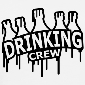 Drinking Crew Graffiti T-Shirts - Men's Premium T-Shirt