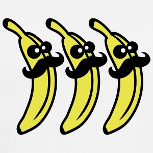 Banana Mustache Gentlemans T-Shirts - Men's Premium T-Shirt