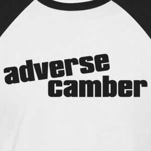 adverse camber baseball shirt - Men's Baseball T-Shirt
