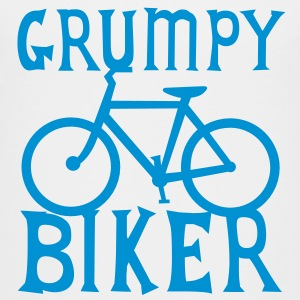 GRUMPY BIKER bicycle funny cycling Shirts - Kids' Premium T-Shirt